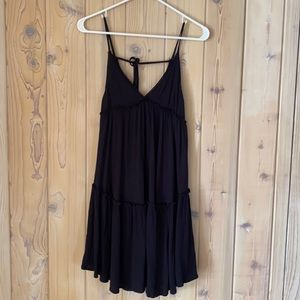 Wild Fable• Black Rayon Baby Doll Dress• Size XS
